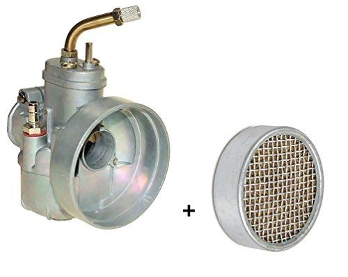 SET: 17mm Vergaser BING + Luftfilter Ø = 60mm für KREIDLER ( M-6190-90392 )