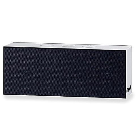 August SE30 - Tragbarer Bluetooth Lautsprecher (schwarz-grau)