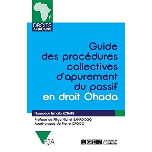 Guide des procédures collectives d'apurement du passif Ohada