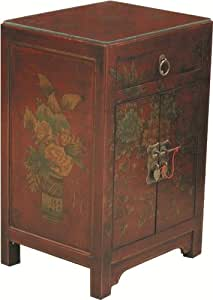 Déco Zen & Feng Shui - Table de chevet chinoise style Cité Xian