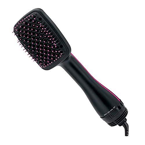 One Step Haartrockner & Styler, Lisa Pro® Föhn-Paddle-Bürste Ionic Technology Generator Salon Haarglätter für alle Haartypen