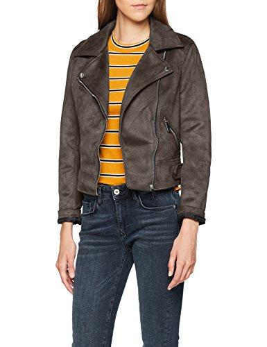 New Look Women's Olivia Suedette Biker Jacket