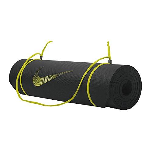 Nike 9339/43 Training Mat 2.0 Bodenmatte, Black/Volt, One Size