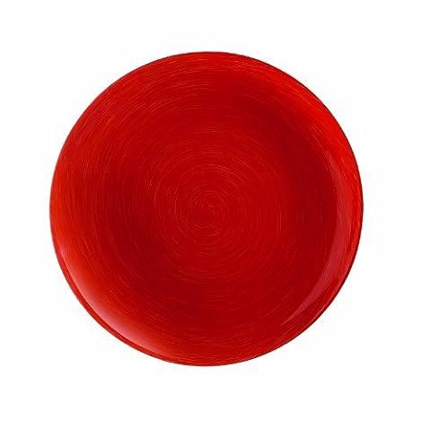 Luminarc 9203552 Lot de 6 Assiettes Dessert 20 cm Stonemania Red Verre