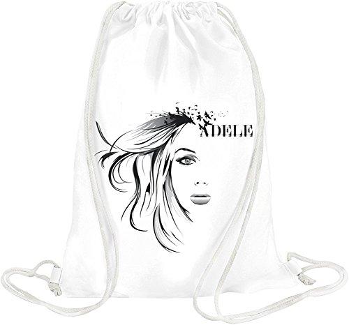 Adele Art Face Stencil Birds Drawstring bag (Laurie Bird)