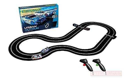 NEW SCALEXTRIC C1379P Pista Urban Outrun Set 191x132