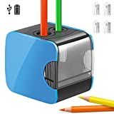 Best Pencil Sharpeners For Classrooms - Qhui Electric Pencil Sharpeners, Automatic Dual Holes USB Review