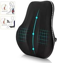 وسادة دعم الظهر Newgam القطنية ، مسند الظهر لتقويم العظام مع شبكة ثلاثية الأبعاد قابلة للتهوية لمقعد السيارة ،