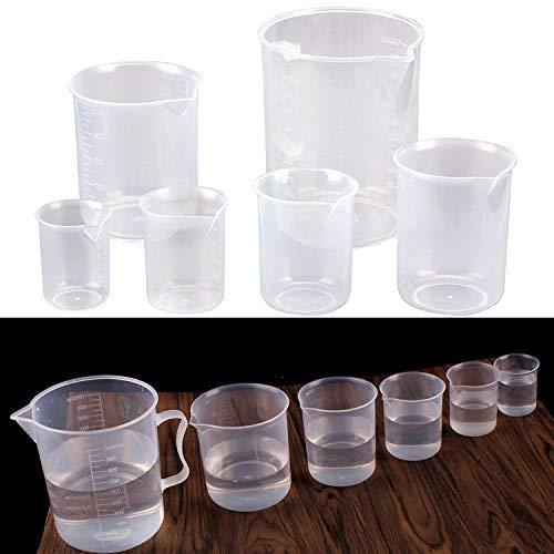 Fashionbabies Vasos Graduados 6 pcs plástico PP Taza
