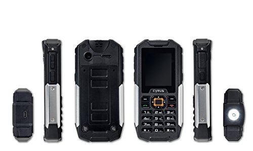 CYRUS CYR10030 CM7 Outdoortelefon (IP86 Zertifiziert, Dual SIM, Wasserdicht, Stossfest)