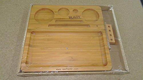 Raw Marke Bamboo Rolling Tablett (New Produkt aus Holz von Raw) Verkauft von Trendz (Rolling Tray Top)