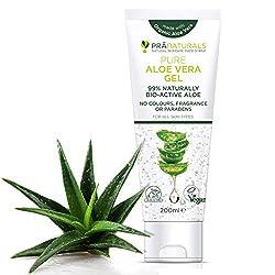 PraNaturals Pure Aloe Vera Gel 200ml VEGAN