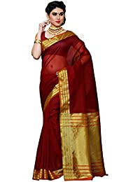 Mimosa By Kupinda Women's Net Saree Fancy Style Color :Maroon (3388-PRS2-MRN-GLD)