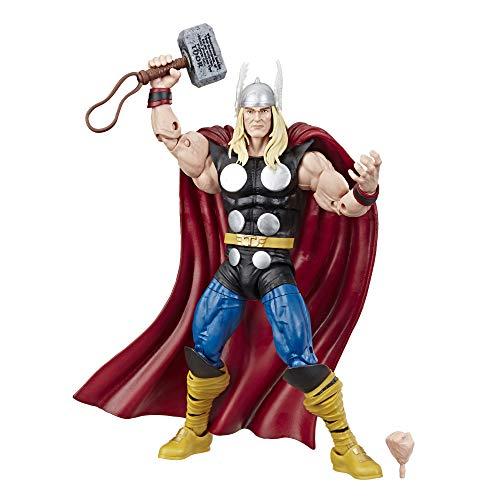 Hasbro Marvel Comics 80. Jubiläum Legends Series 15 cm große Vintage Thor Action-Figur, inspiriert durch die Comics