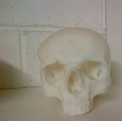 Skull Candle Reusable Longburning Halloween Party Theme