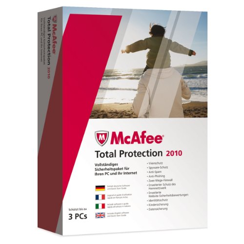 McAfee Total Protection 2010 – 3 User