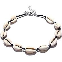 afb2e80b04b8 Collar bohemio de conchas de playa para mujer