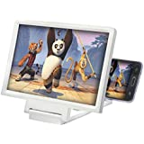 TechKing Mobile Phone 3D Screen Magnifier Enlarger Video Screen Amplifier Screen Enlarged Foldable Stand Holder Expander…