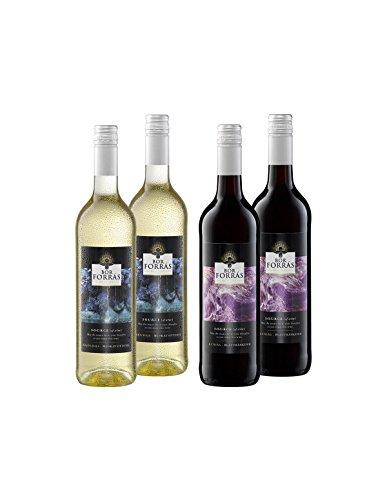 Ungarn Probierpaket Süß - Bor Forrás Wein-Paket ungarischer Rotwein & Weißwein lieblich -...