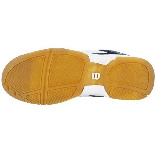 Wilson Court Challenge 400 WRS975400, Unisex - Kinder Sportschuhe - Tennis Weiss