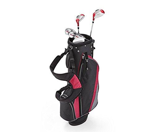 TCM Tchibo Herren Damen Golfset Golf Set Rechtshand Schläger Standbag mehrfarbig (Damen Golfset)