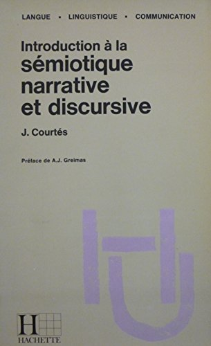 Introduction  la smiotique narrative et discursive : mthodologie et application