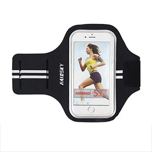 XUEQQ Sportarmgürtel iphone6   Plus Handyarm mit wasserdichtem Lycra-Laufarm mit Tasche (Iphone6 Fitness-armband)