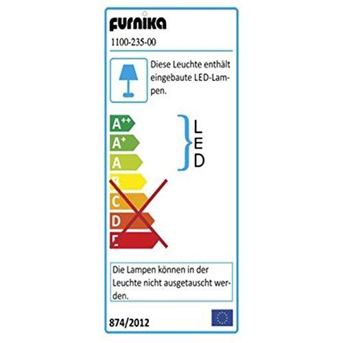 Wohnwand »PRENO231« Nussbaum-satin Nachbildung mit Beleuchtung - 4