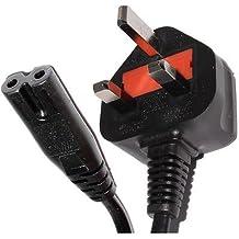 Cable de alimentación a 8figura de red para PS3Slim de Reino Unido
