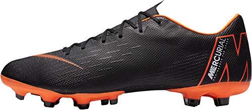 Nike Herren Mercurial Vapor XII Academy MG Fußballschuhe, Schwarz/Orange, 40.5 EU