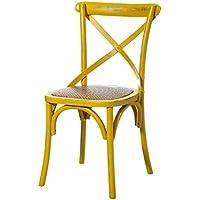 Amazon.es: sillas comedor vintage madera: Hogar y cocina