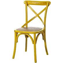 Amazon.es: sillas comedor vintage madera