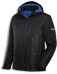 UVEX 9890 Softshell-Jacke 9890/schwarz-blau M