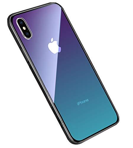4a9b15e10c2 LAYJOY Funda iPhone X, Funda iPhone XS, Ligera Carcasa Silicona Suave Negro  TPU Bumper