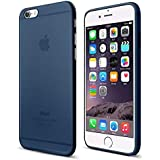 IPhone 6&6s plus Cover Apple Ultra Thin Silicone Soft,Midnight Blue