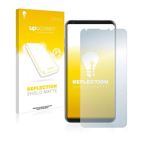 upscreen Entspiegelungs-Schutzfolie kompatibel mit LG V30 - Anti-Reflex Bildschirmschutz-Folie Matt