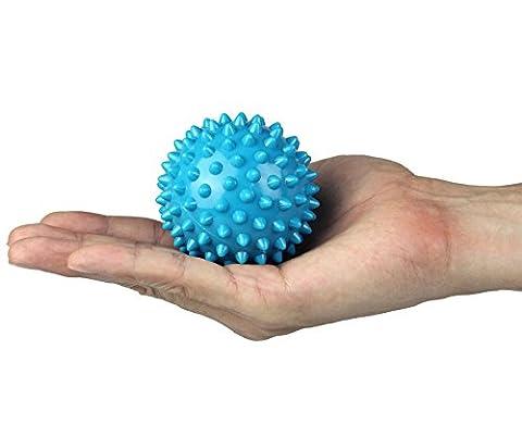 GAINWELL Massageball Noppenball - Ball für Massage - Gummiball für Tiefenmassage -für Hals, Rücken und (Plantari Fascite Plantare)