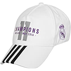 adidas - Real Madrid UCL Winner Cap, color white