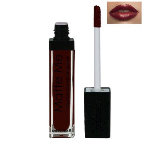 Arezia Matte Me Liquid Lipstick 6ml / 0.2 fl.Oz. AZ-21 (Maroon Date)