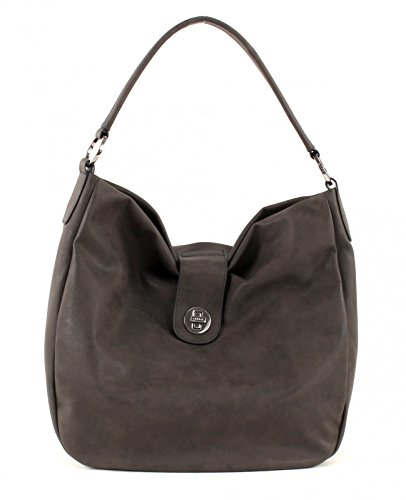 Esprit Kora Borsa a spalla 39 cm Brown Grey (Marrone)