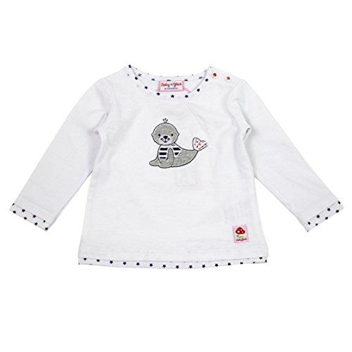 SALT AND PEPPER Baby-M/ädchen Bg Longsleeve Uni Igel Langarmshirt