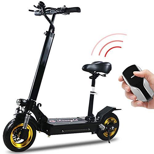 DBSCD Elektroroller für Erwachsene 500W High Power E-Scooter, leicht, faltbar mit USB Charging Kick Scooter, Höchstgeschwindigkeit 45km/h Elektroroller, 70KM