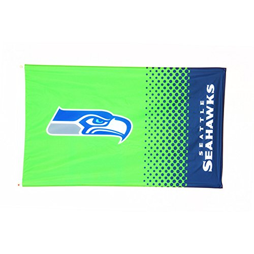 Offizielle NFL Seattle Seahawks Fahne in 150 cm x 90 cm