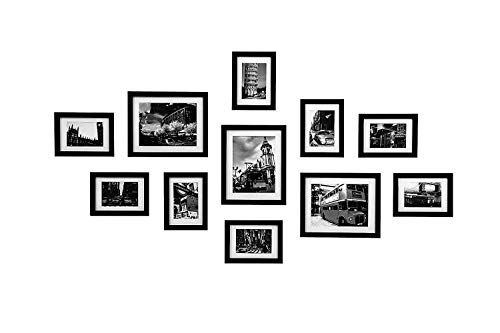 55% discount on WOOD MEETS COLOR Wall Photo Frames multiple photos ...