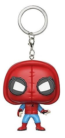 Spider-Man Homecoming Spider-Man Homemade Suit Pocket Pop! Keychain Vinyl