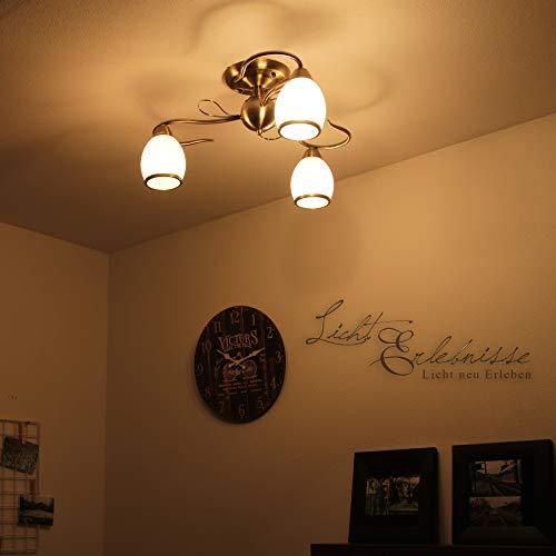 Jugendstil Deckenleuchte 3-flammig Ø 52cm Deckenlampen Leuchten