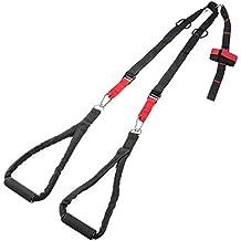 Ultrasport Basic - Kit de entrenamiento en suspensión, entrenamiento eficaz de todo el cuerpo, incluye anclaje para puerta, instrucciones de uso y bolsa de transporte