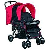 Safety 1st Tandem Stroller Duodeal rojo llano