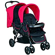 Safety 1st 11487640–Carrito duodeal para hermanos o gemelos