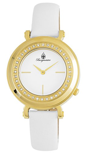 Burgmeister Women's Analogue Quartz Watch with Leather Strap BM809-286